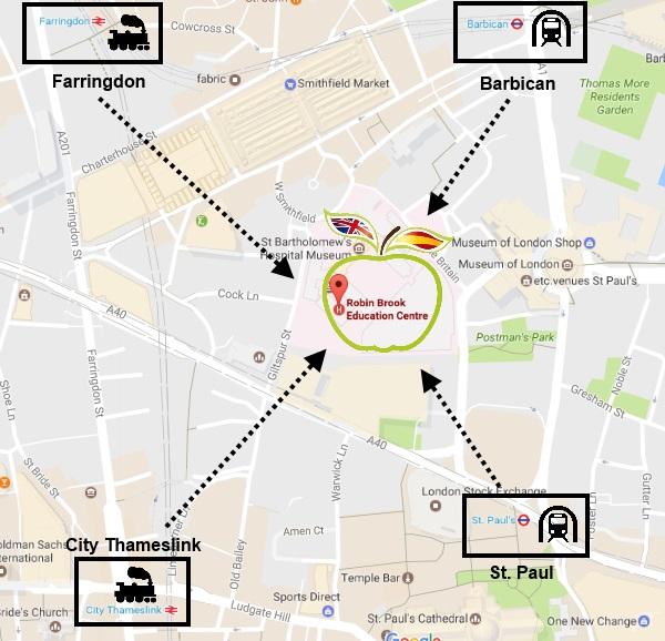 mapa venue